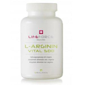 L-Arginin 500mg 120 Kapseln